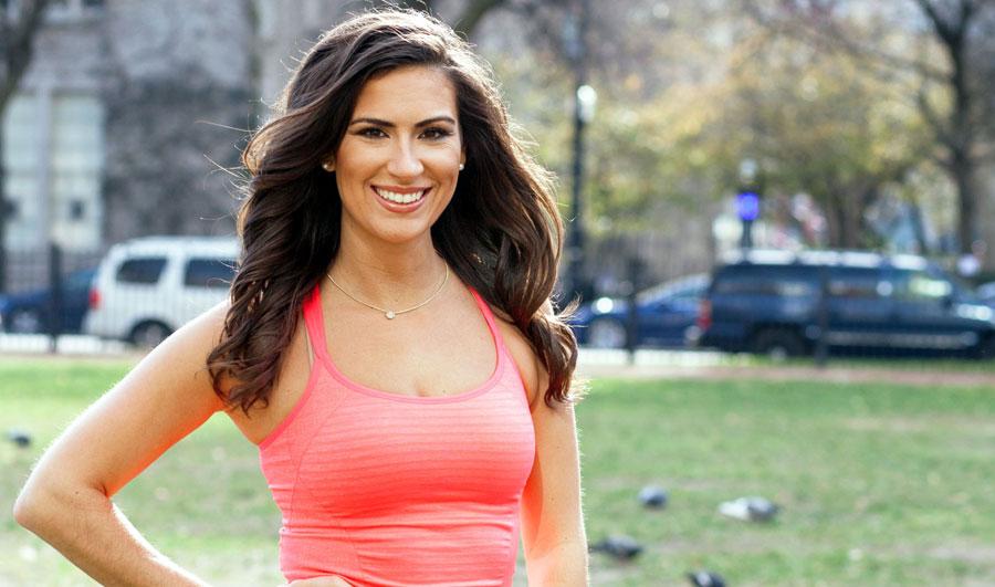 adelgazar caminando: Stephanie Mansour, creadora del reto
