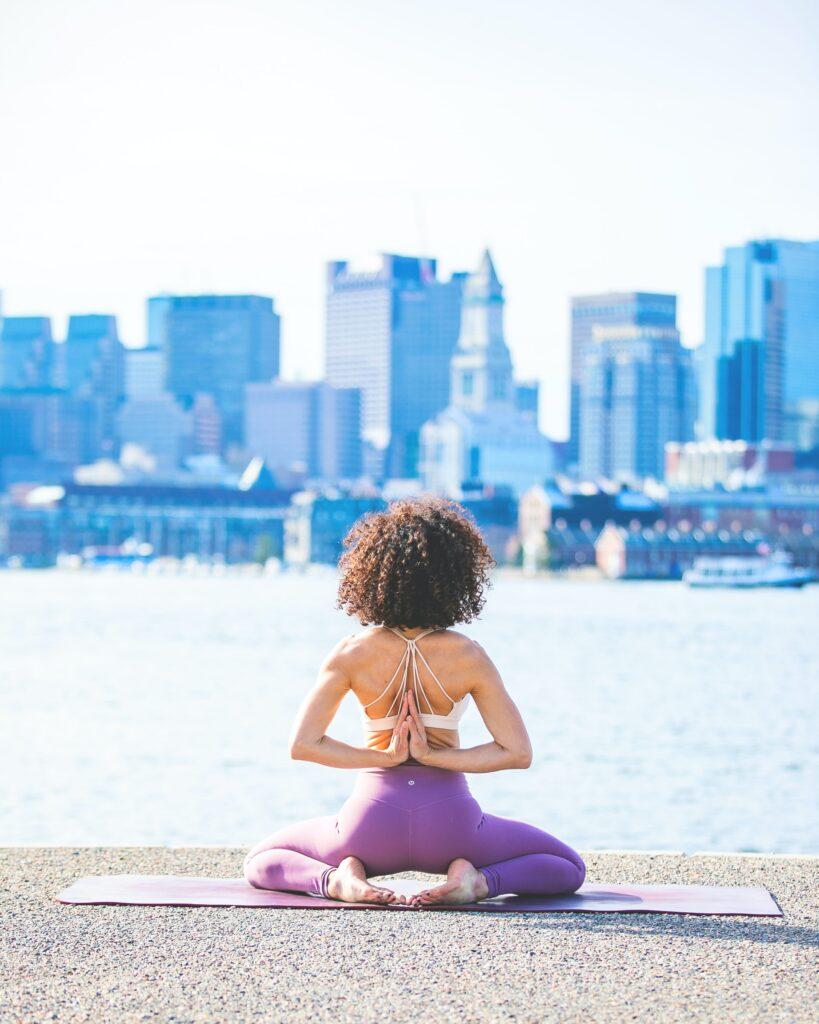 Esterilla de yoga reciclable