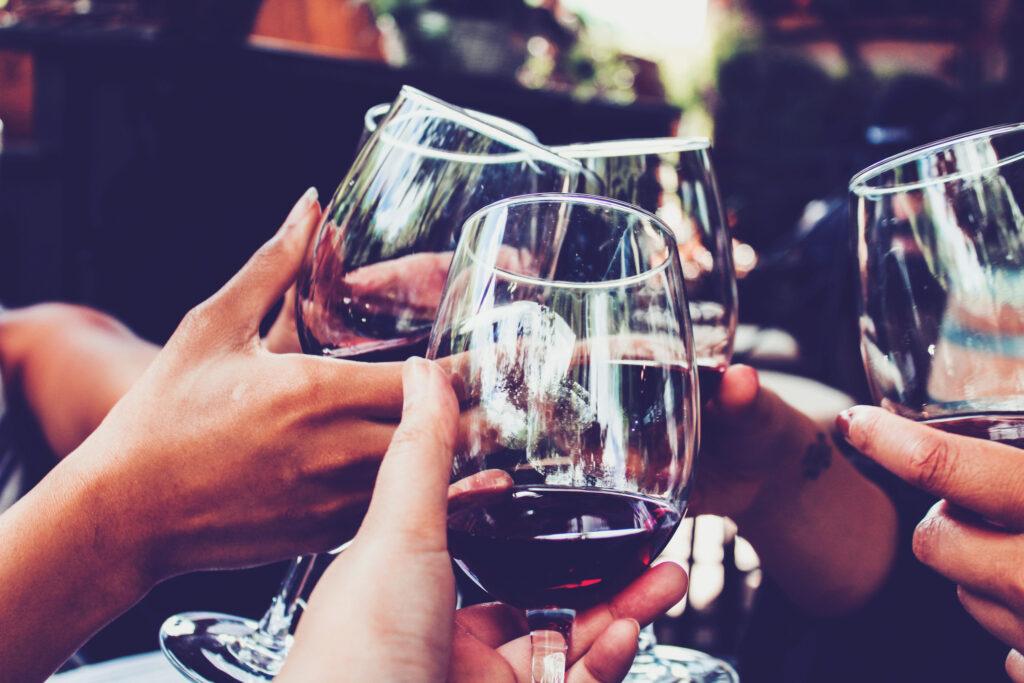 2.Emplea una copa para cada vino