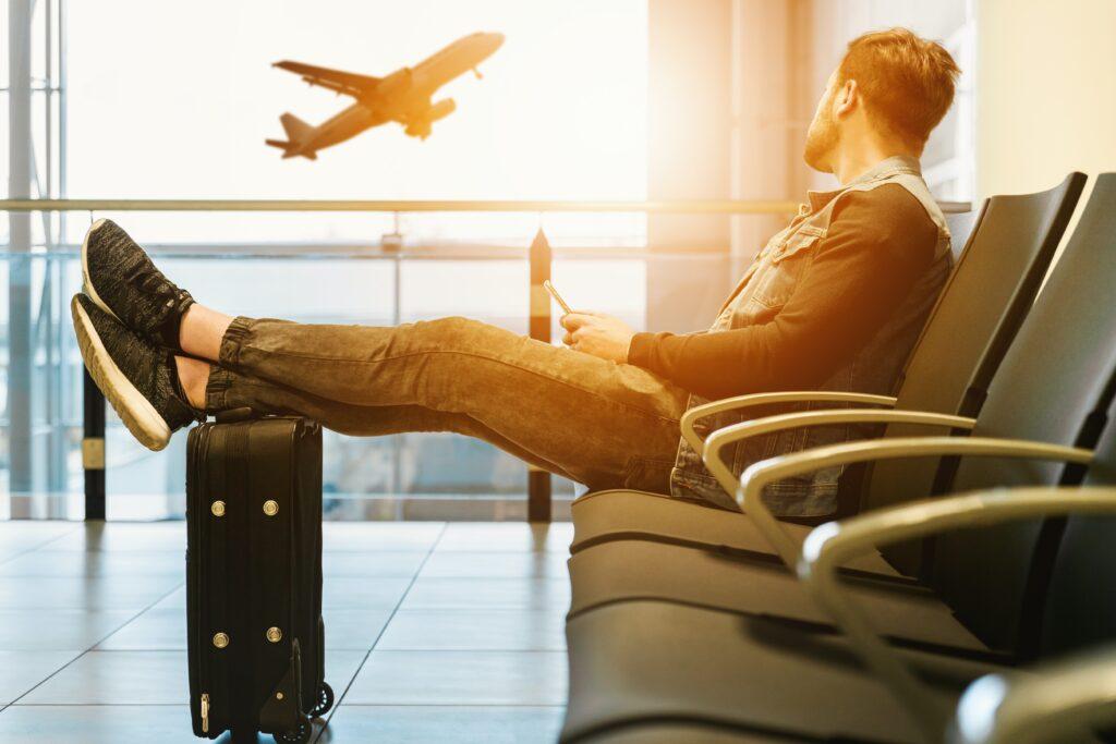 Evita viajar en avión