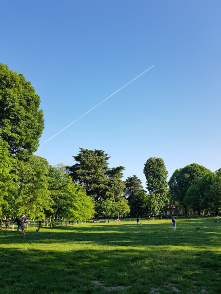 Zonas verdes para ricos
