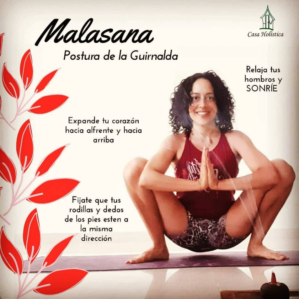 Malasana: cómo hacer la postura de la guirnalda