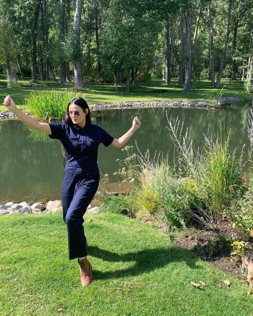 Demi Moore es una apasionada de la naturaleza