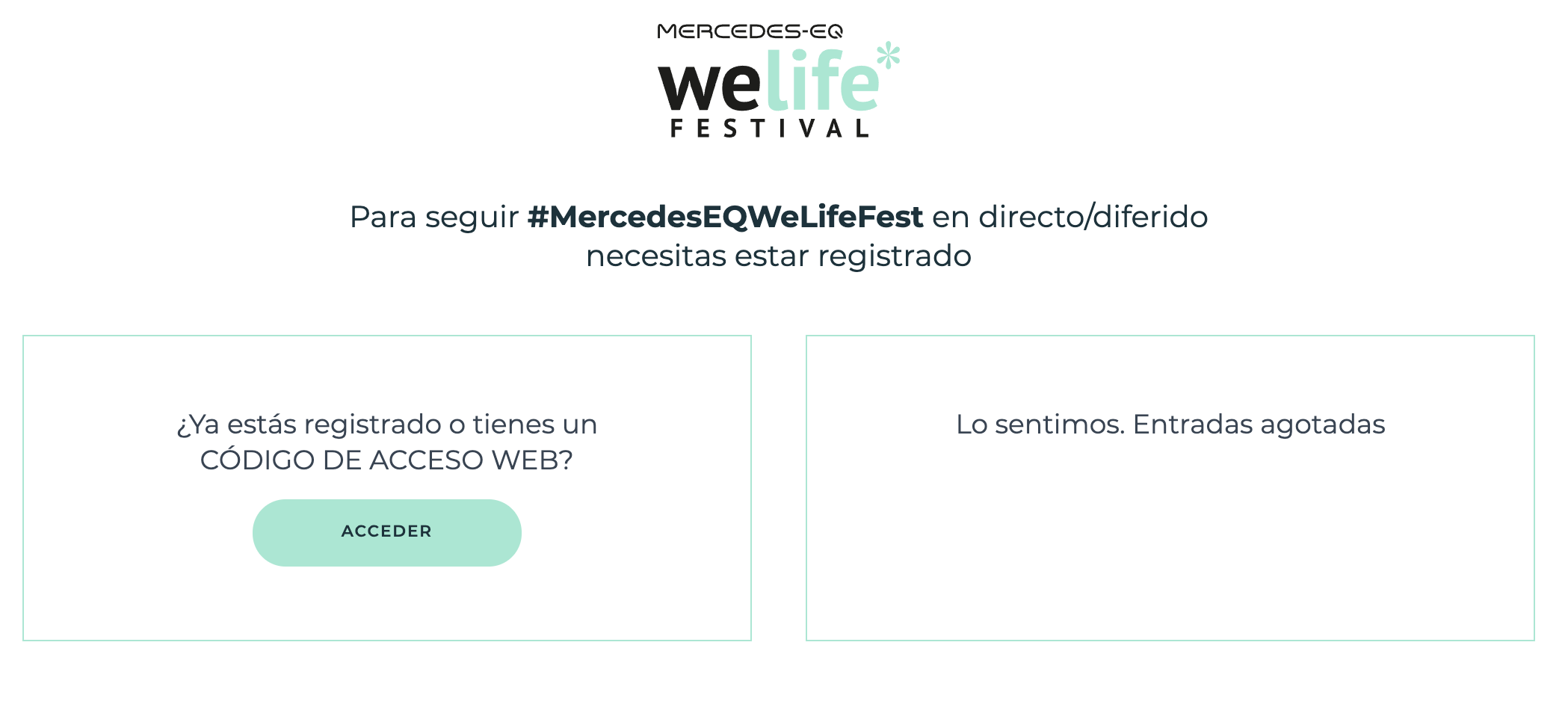 Welife Festival conexión charlas online