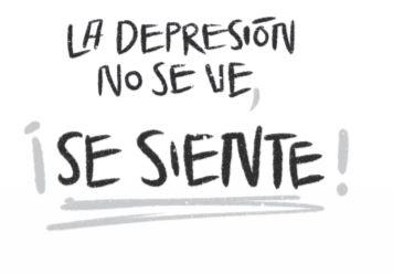 La depresión no se ve, se siente.